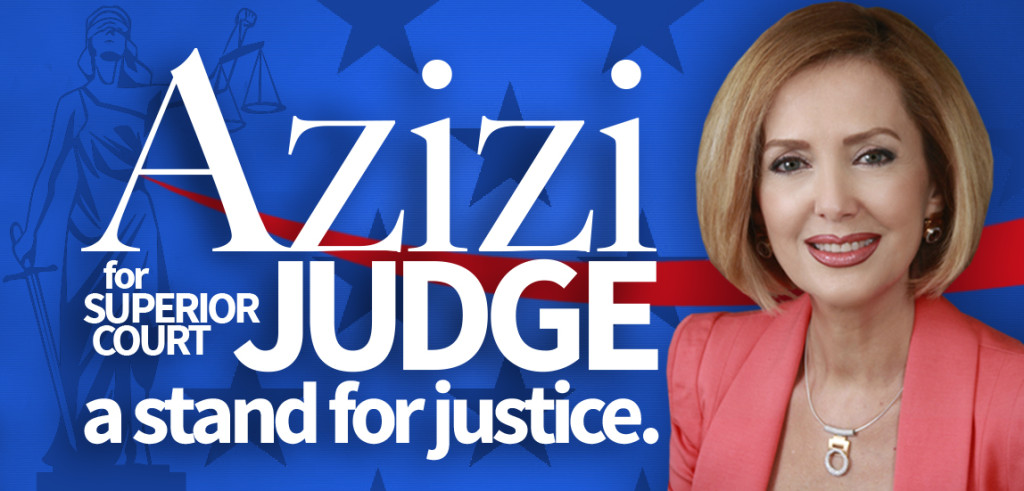 Why Vote Azizi for Judge 2016