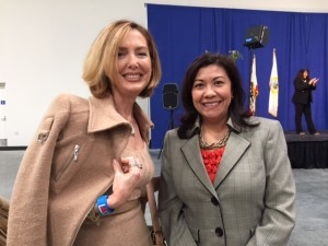 At 10th Annual State of Women Conference with Congress Member Norma Torres
