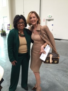 At 10th Annual State of Women Conference with Dr. Soraya M. Coley, Cal Poly President