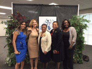 At 10th Annual State of Women with Assembly Woman Cheryl Brown, Rialto Mayor Hon. Deborah Robertson and Fontana Mayor Hon. Aquanetta Warren
