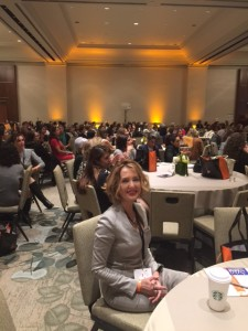 At Iranian American Women Foundation Leadership Conference in San Diego