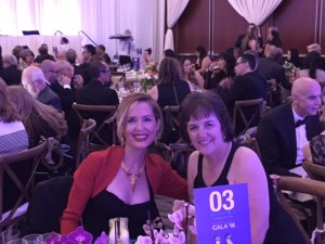 At University of La Verne Scholarship Gala with Sharilyn Berry