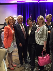 At Western SB County Bar Association Award Ceremony with Justice Manuel A. Ramirez, Court of Appeal Justice Appointee Marsha G. Slough, and Second District Supervisor Janice Rutherford